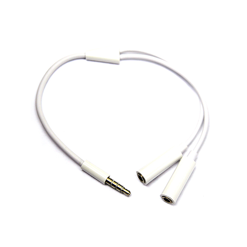 3.5mm-M/2x3.5mm-F Headphones Audio Splitter