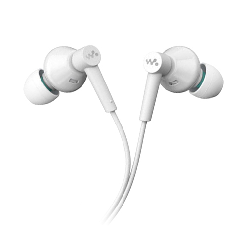 Sony MDR-EX083 In-Ear Stereo Earbud - White (Bulk Packaged)