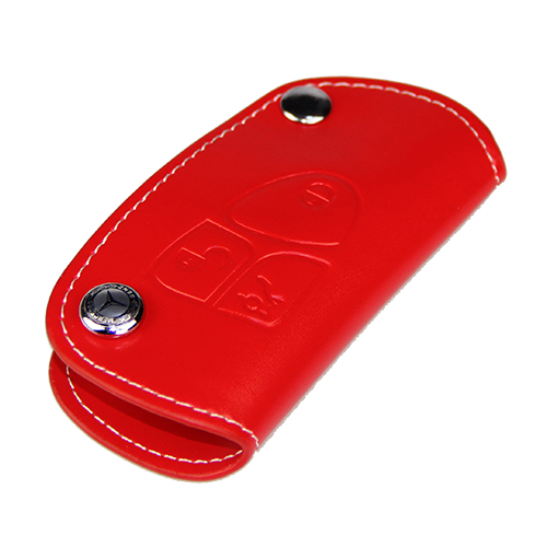 Mercedes Benz Key Fob Genuine Leather Case