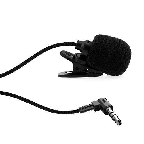 3.5mm Hands Free Clip on Lavalier Microphone